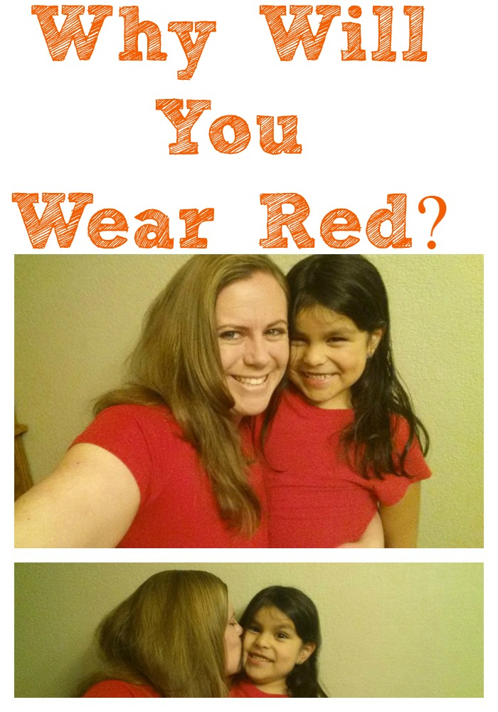Wear Red Day is important to heart health and helping to raise awareness about heart health! A simple color on a day can drive such a powerful message and show love ot those who have heart health problems.