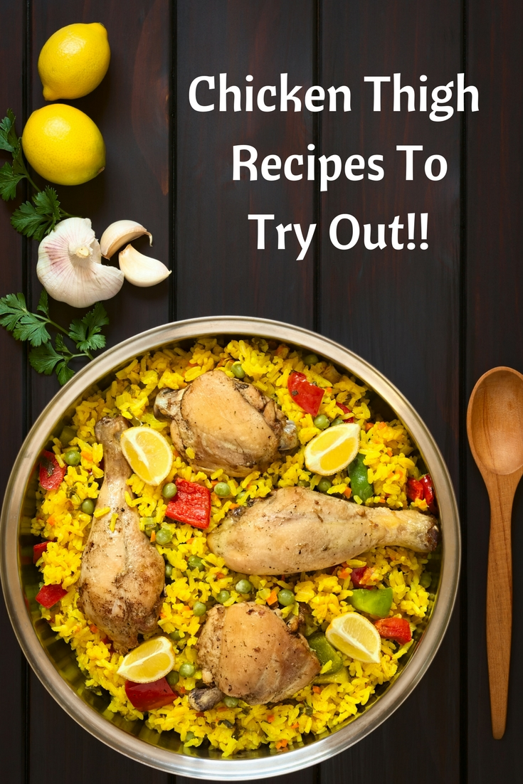 Chicken thigh recipes are a great way to feed your family. One pan, casseroles, slow cookers and more=a frugal and easy source of protein for your family.