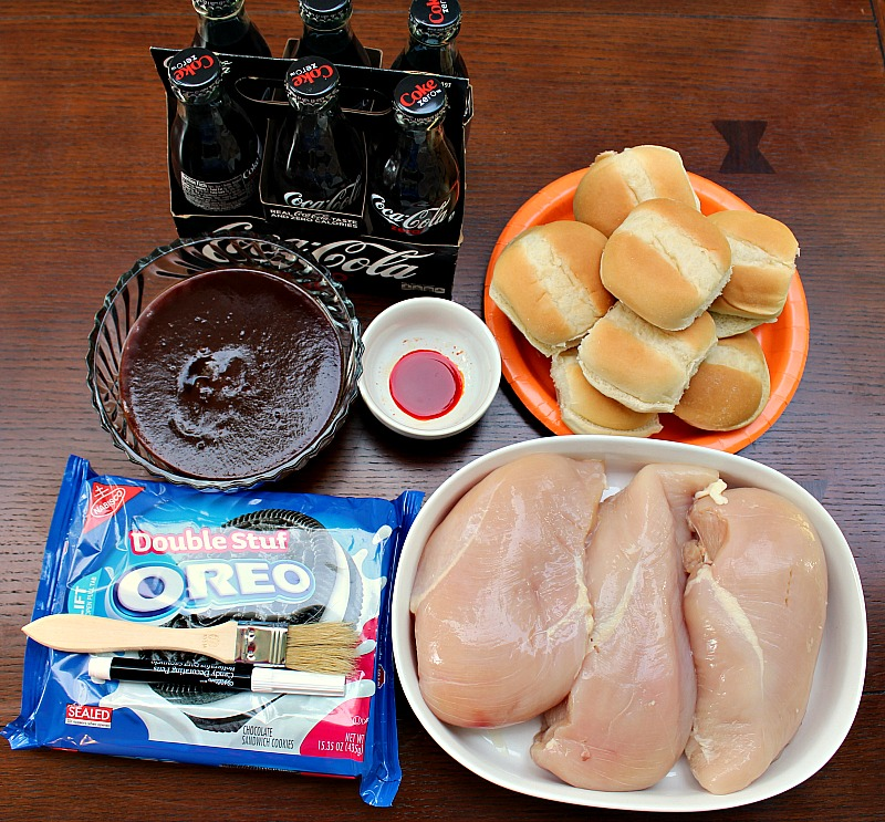 These Coke Zero Chicken BBQ Sliders are perfect to make for the big tournament or any tailgating get together!! Quick, easy, and full of flavor!