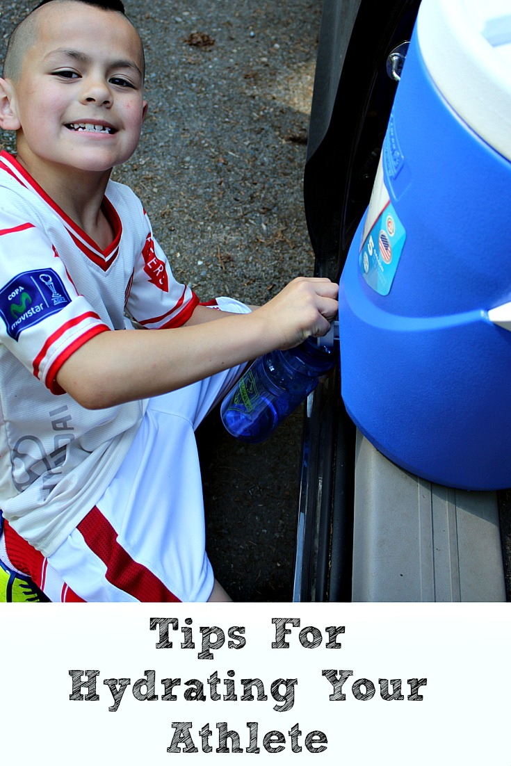 Tips For Hydrating Your Athlete