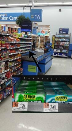 Extra At Walmart