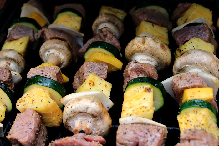 Sweet And Zesty Steak Kabobs Grilling