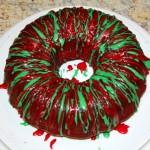 Christmas Tie Die Cake Whole