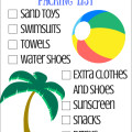Quick Trip To The Beach Packing List