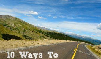10 Ways To Help Treat Motion Sickness
