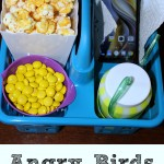 Love Angry Birds be sure to check out this colored popcorn with trays. They are perfect for family movie night, plus it helps with portion control!