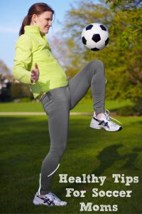 These healthy tips for soccer moms is a great way to stay on your A game for the soccer season!! It is a lot of work being a soccer mom and stress too!