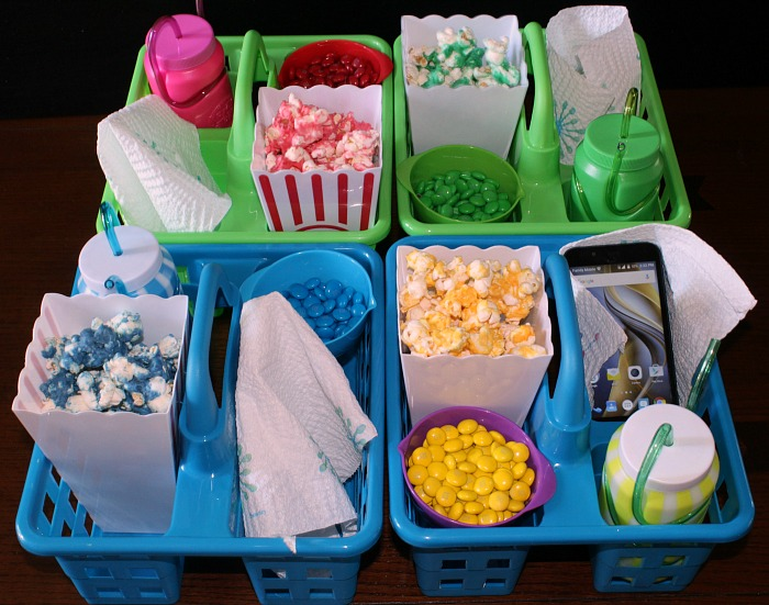 Movie Night Popcorn Trays
