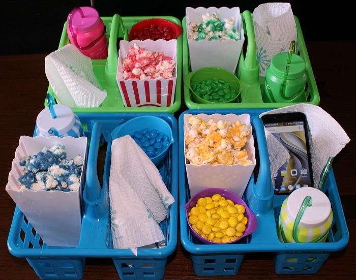 Movie Night Popcorn Trays