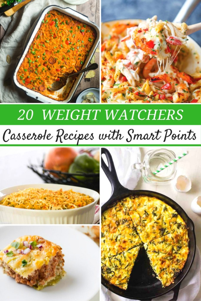 These 20 smart points weight watchers casseroles are perfect for adding into your meal plans!! Trying new recipes are a great way to stay on plan!