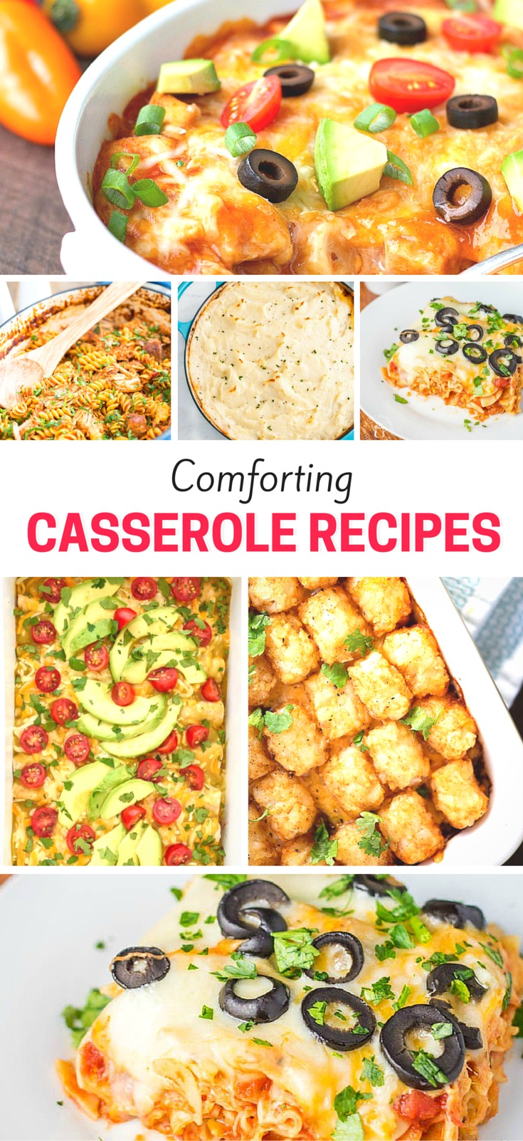 There is nothing better than a nice warm comforting casserole for dinner!! These are perfect for enjoying with the family at dinner time.