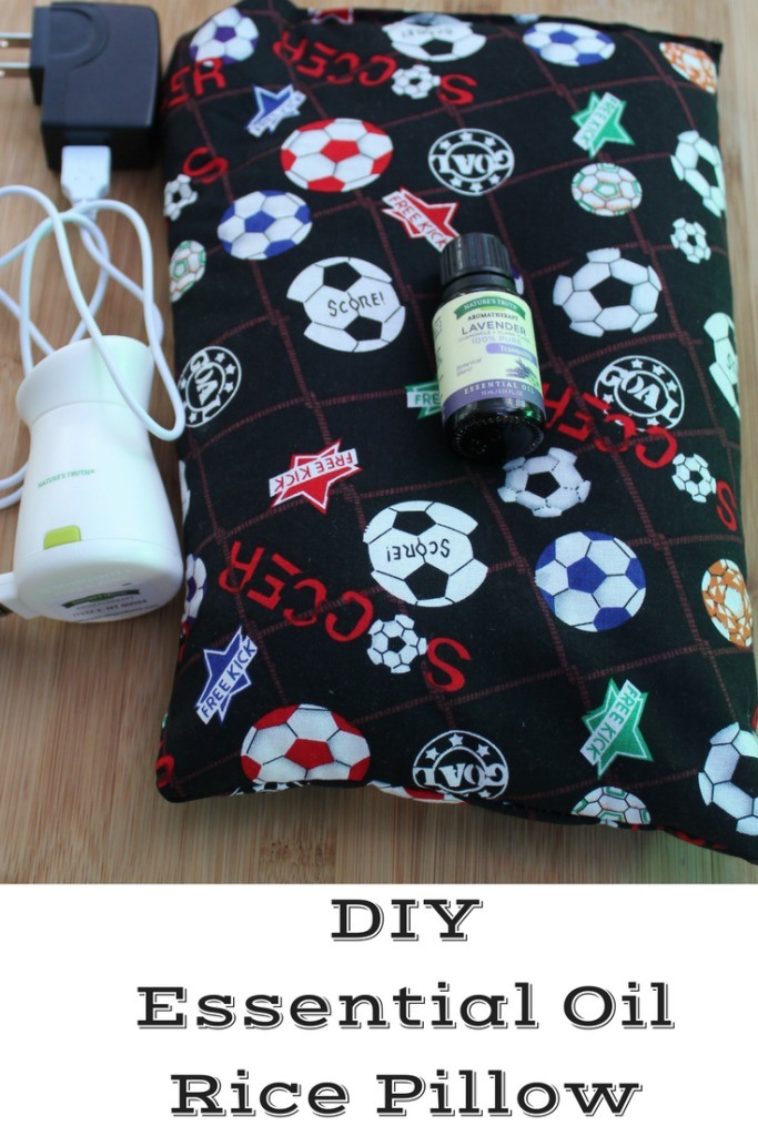 This easy DIY Essential Oils Rice Pillow is perfect to make to help relax anyone!! Plus you use different oils for your needs!