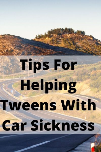 These 5 Tips For Helping Tweens With Car Sickness go a long ways to help prevent motion sickness and to treat it as well for Tweens.