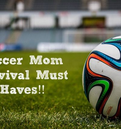 These soccer mom must have items are crucial for soccer season survival!!! The season can get long and tough if you aren't prepared!