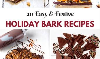 Easy And Festive Holiday Bark Recipes!!