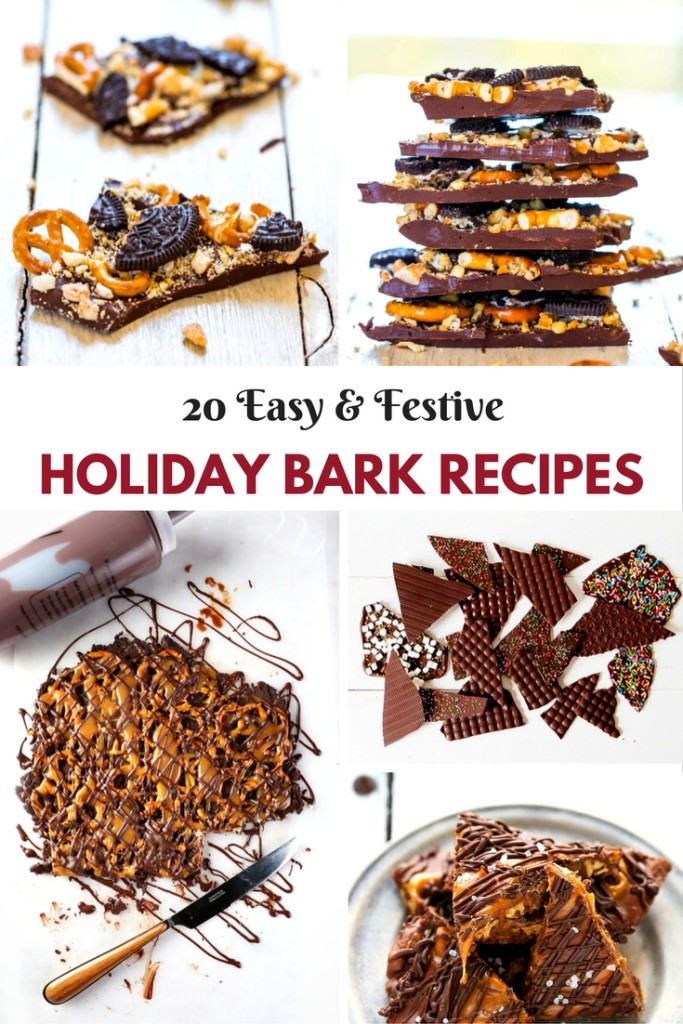 These Easy And Festive Holiday Bark recipes are great for the holidays!! Plus they are easy to make to share with friend and family!