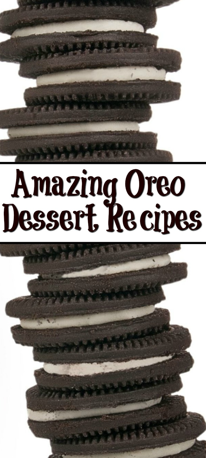 Oreo Desserts are amazing year round but for the holiday these treats are even more special! It is amazing how many different things you can make with Oreos