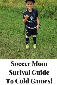 This Soccer Mom Survival Guide To Cold Mornings is the perfect way to be able to prepare yourself for watching soccer in the cold!!