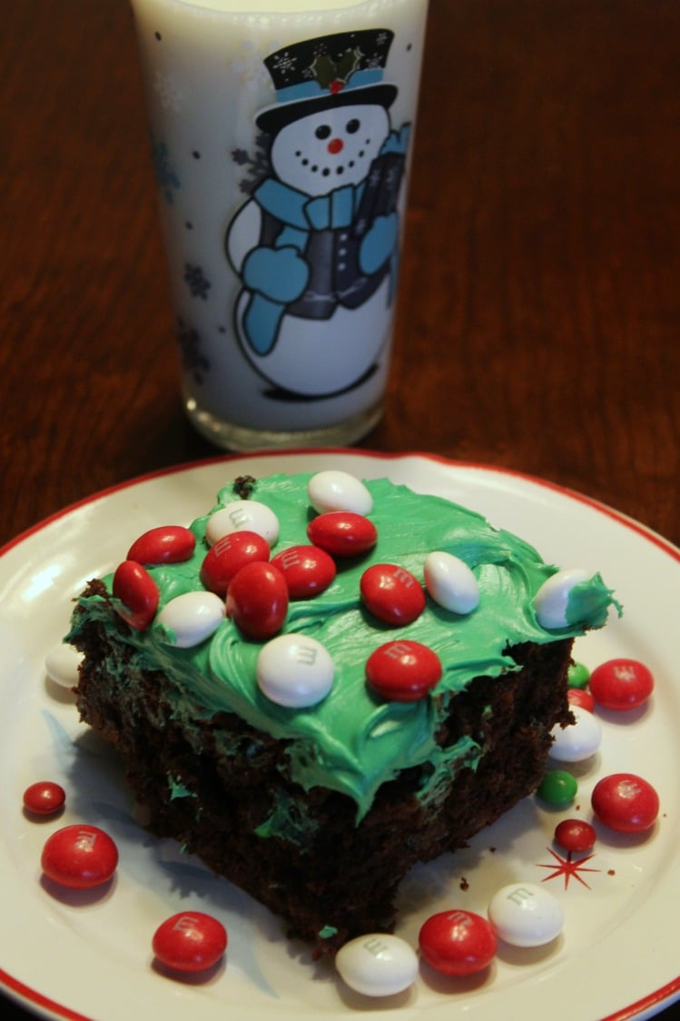 These Easy Holiday Peppermint Brownies are perfect for a dessert for a get together and they are rich and chocolatey to satisfy your sweet tooth!