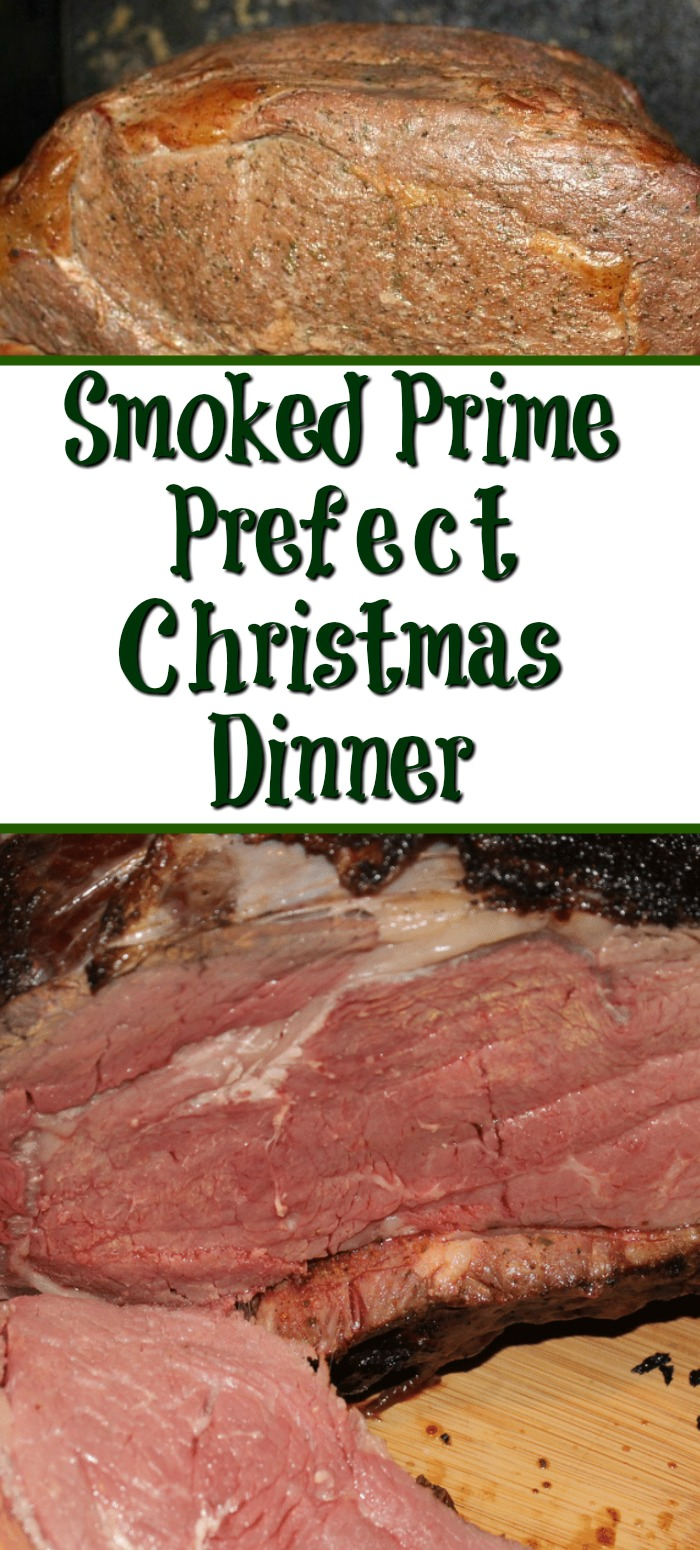 This Smoked Prime Rib Roast is perfect for your Christmas dinner!!! Easy to make and the taste is perfect for the holiday season! This Smoked Prime Rib Roast is perfect for your Christmas dinner!!! Easy to make and the taste is perfect for the holiday season!