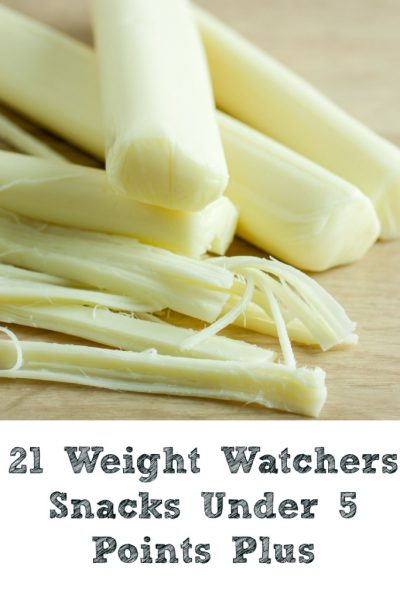 These 21 Weight Watchers Snacks Under 5 Points Plus!!! They are perfect for helping to curb your hunger while on the Weight Watchers Plan!