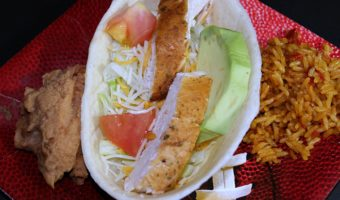 Smoked Chicken Salad Tacos