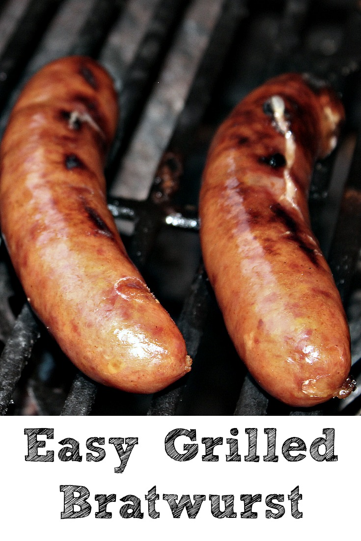 These Easy Grilled Bratwurst are the perfect meal to make for your family! Doing more than just grilling Bratwurst adds so much more flavor to them!