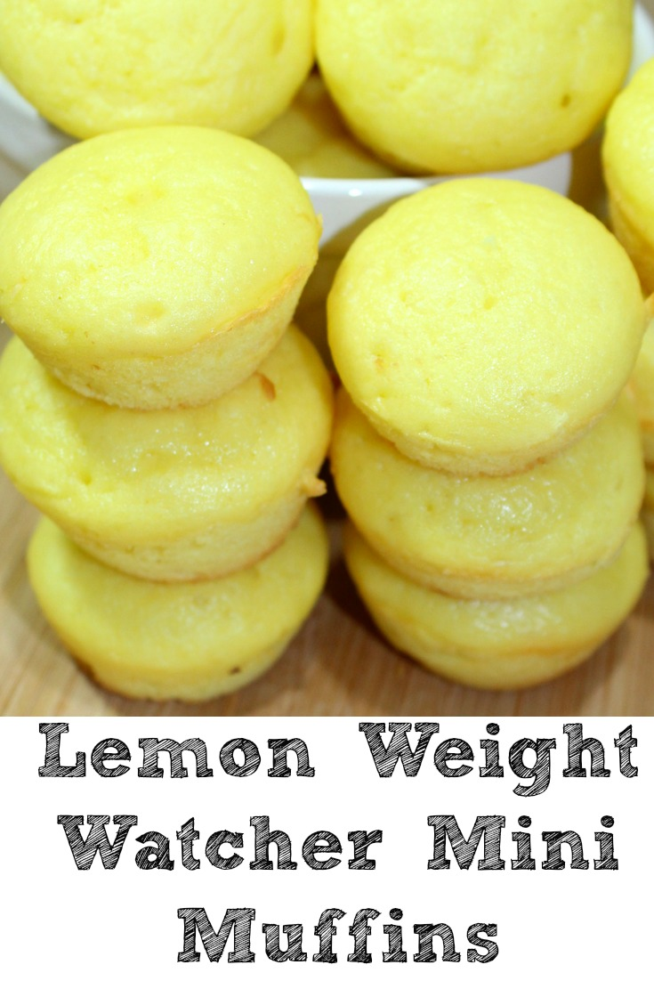 Lemon Weight Watchers Muffins Are Only 2 Smart Points 1 Plus Value And