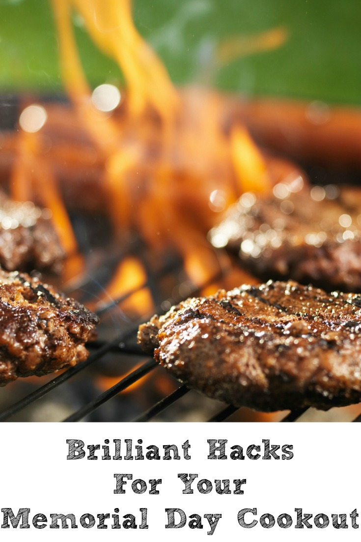 These Brilliant Hacks for Your Memorial Day Cookout will be sure to make your day easier and less stressful as well. Cookouts are perfect for the holiday!