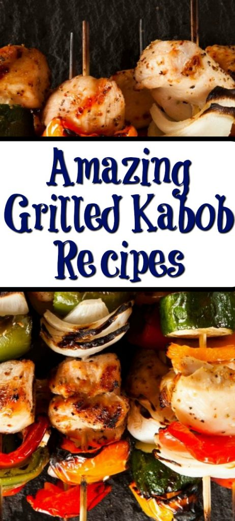These Kabob And Skewer Recipes are the perfect way to get some recipe inspiration for your next bbq! They can be changed up with any meat anThese Kabob And Skewer Recipes are the perfect way to get some recipe inspiration for your next bbq! They can be changed up with any meat and vegetable! d vegetable!