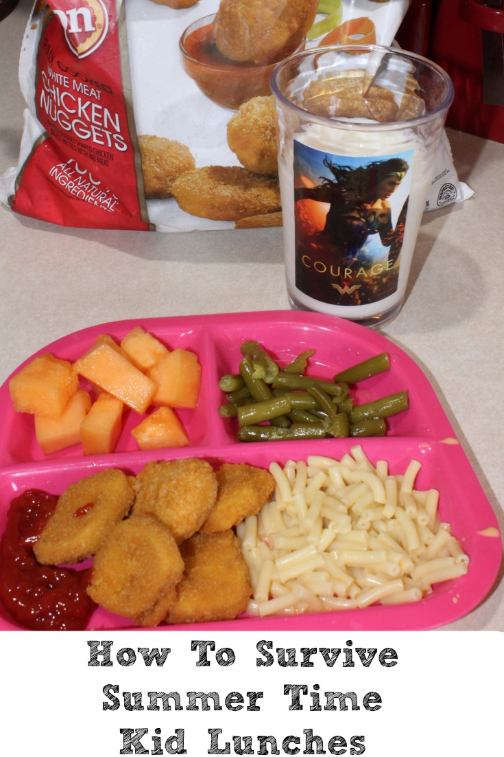 Wondering how to Survive Summer Time Kid Lunches? Much like anything planning can take away a lot of pain but also make life easier with simple tips.