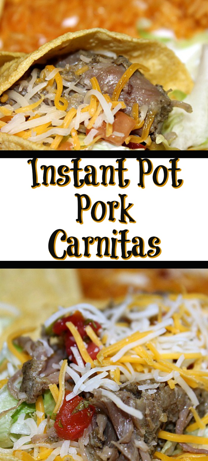 These Instant Pot Pork Tacos are sure to be a hit with your Taco Tuesday!! Quick and easy to make the whole family will love this easy frugal dinner!