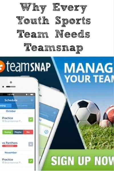 Every sports team needs to have Teamsnap! Organize the team, keep parents updated, and make life easier!! Plus you can get a free four month trial!