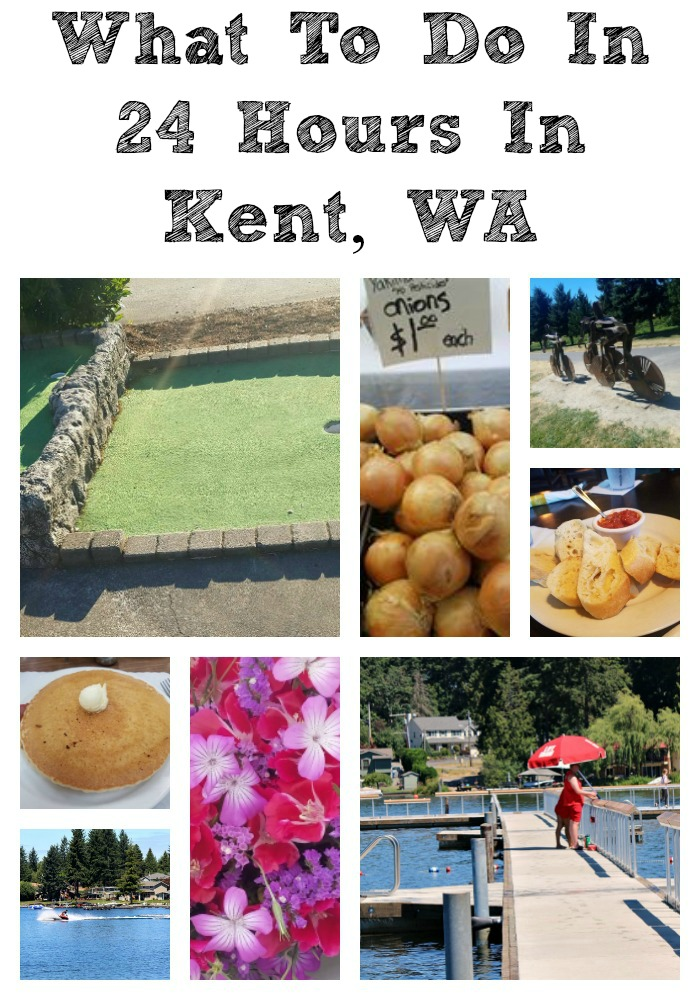 Ever wonder What To Do In 24 Hours In Kent, WA? Lots of to do from Farmers Markets, shops, restaurants, lakes, nature trails, and hotels to stay at.