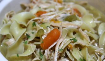 Easy Stove Top Homemade Chicken Noodle Soup