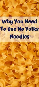 No Yolks noodles are the perfect addition to any meal! Perfect for casseroles, soups, as a side item, and any many different recipes as well.