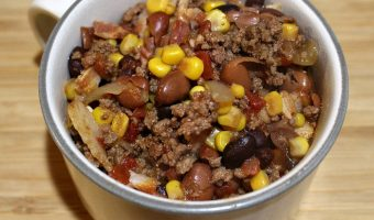 Easy Crock Pot Beef Chili