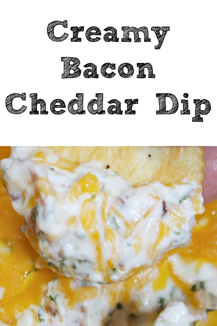 This Creamy Cheddar Bacon Dip is perfect to make for any tailgating get together and pairs up perfectly with crackers and Coke as well.