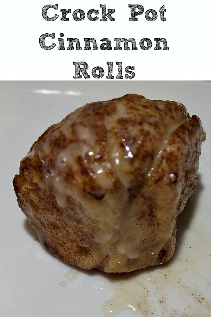 These Crock Pot Cinnamon Rolls are perfect and easy to make up for a weekend breakfast or a holiday breakfast! Plus they are frugal as well!