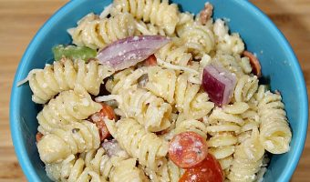 Easy Pizza Pasta Salad