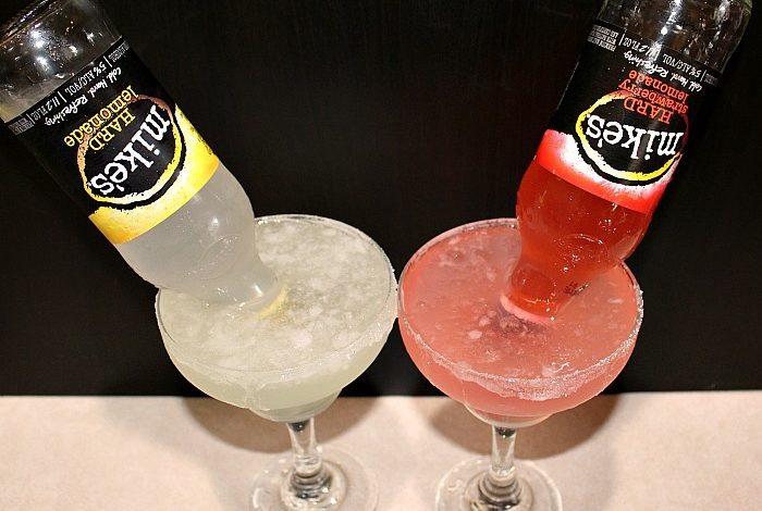 These Easy Mike-A-Ritas Cocktails are perfect to make for the holidays and even summer get togethers! Only three ingredients they are perfect to whip up!