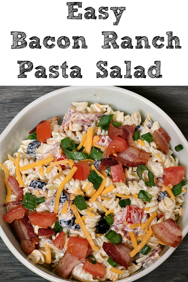 Bacon ranch salad now in vegan form recipe dishmaps for Easy ranch