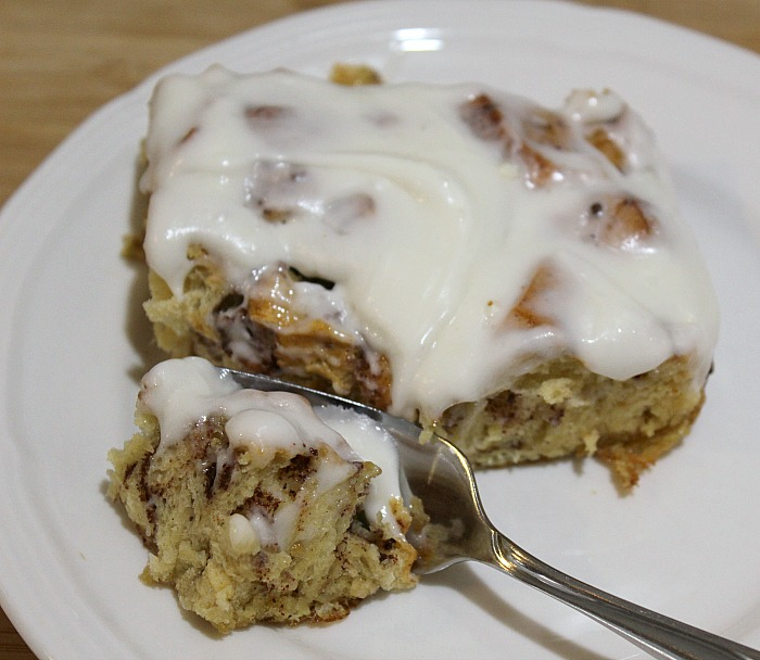 This Easy Cinnamon Roll Casserole is perfect to make for any lazy weekend morning or Christmas morning. Since it's made out of prepackaged cinnamon roll there is hardly any prep work, plus they can be picked up for a stock price making for a frugal breakfast!