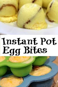 These Instant Pot Egg Bites are perfect for breakfast!! They are the perfect copycat Starbucks version to eat at home plus they are weight watcher smart points and keto friendly as well!! Customize with different proteins, cheese, and vegetables