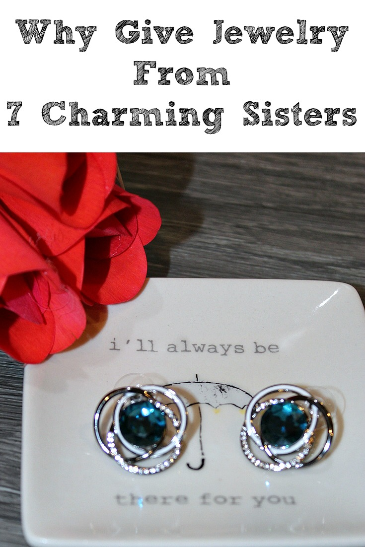 There are a lot of reasons as to Why Give Jewelry, but let's face it every woman loves to look and feel good!! Jewelry From 7 Charming Sisters makes the perfect gift for anyone on your list or for their birthday!!