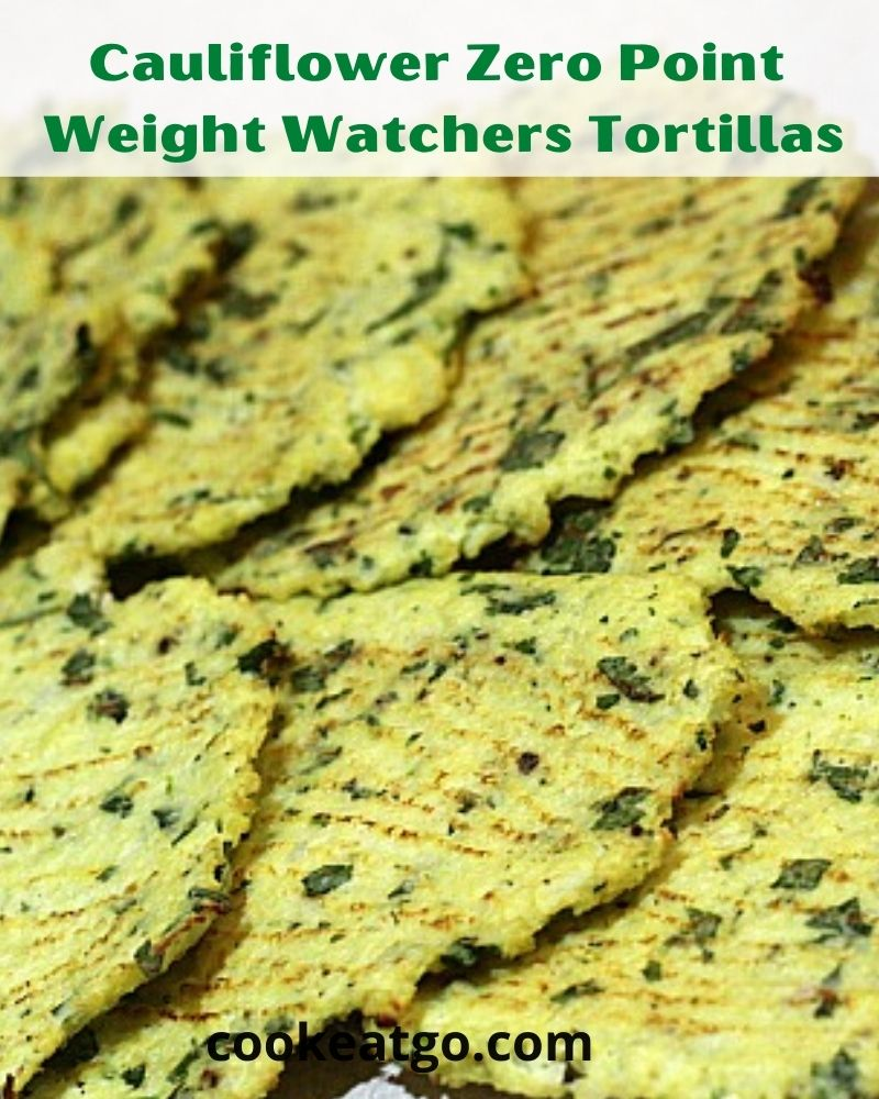 These Zero Point Weight Watchers Tortillas are low carb and perfect to make at home to make your meal healthier!! Great way to slip more vegetables!