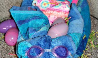 Easter Beach Towel Bunnies