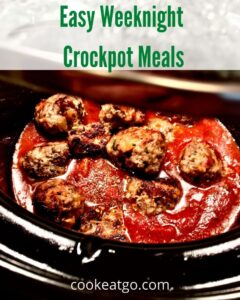 These Weeknight Crockpot Meals are perfect for busy weeknights! Crockpots allow dinner to be ready on your schedule without spending your night cooking! Planning ahead can help your budget as well!