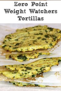 These Zero Point Weight Watchers Tortillas are low carb and perfect to make at home to make your meal healthier!! Plus with using cauliflower they are a great way to slip more vegetables into your kids dinner as well on Taco Tuesday.