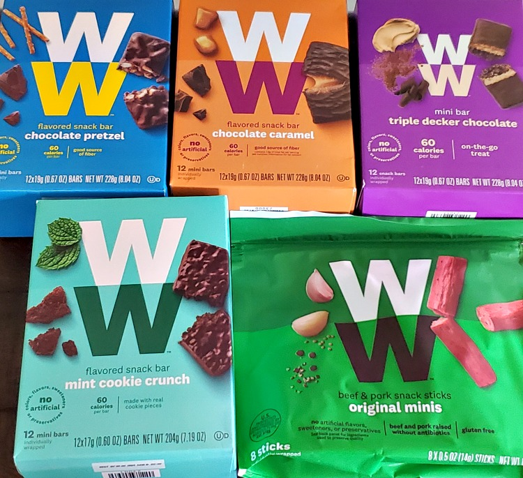 There are so many amazing Weight Watchers Snacks options!! In addition to the zero point options, there are also easy to buy Weight Watchers Snacks options that make tracking easy since they are Weight Watchers AKA WW endorsed!